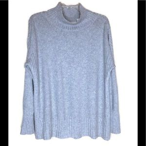 Angel Of The North Mock Turtleneck Sweater Size L